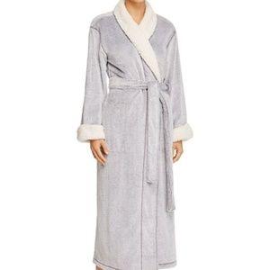 Natori Plush Velour Robe SIZE XL Wisteria NWT
